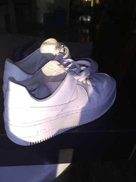 vendo zapatillas nike mujer air force 1
