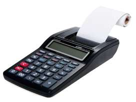 Calculadora Impresora 12 Dígitos Portáti