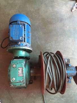 Montacarga Motor Reductor 2HP