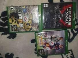 Vendo Gears of war ultimate edition y fifa 16 y 17 xbox one