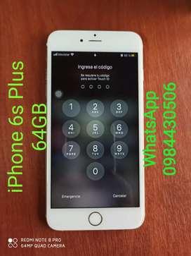Se vende iPhone 6S Plus 64GB