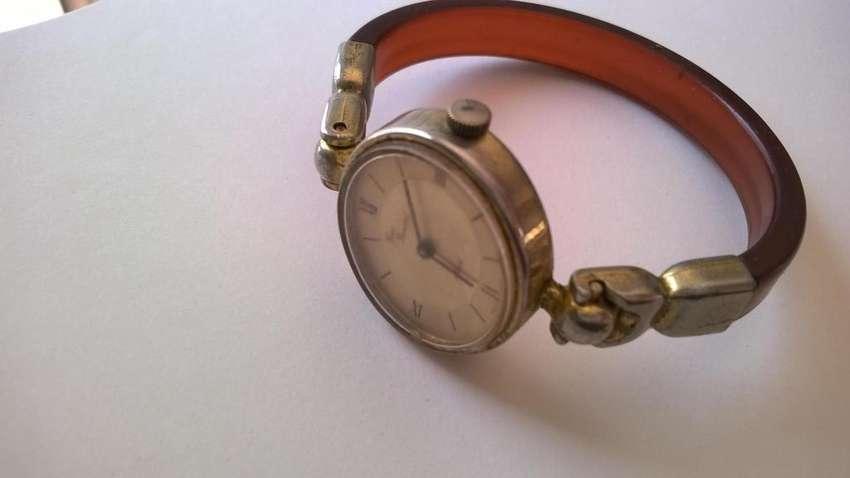 Reloj Yves Renaud A Cuerda Máquina Impecable 0
