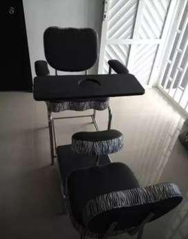 Vendo silla para pedicure y manicure