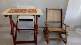Oferta 2 sillas para niños como nuevas