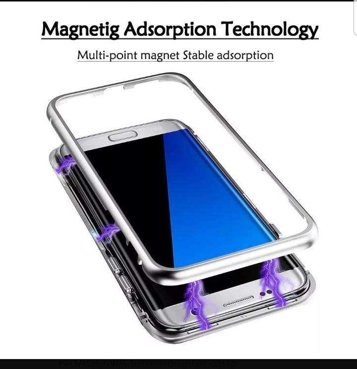 Funda Magnética Metálica para Samsung S8 0