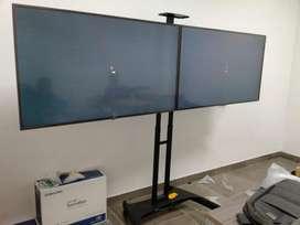 soportes de pedestal para pantallas de TV