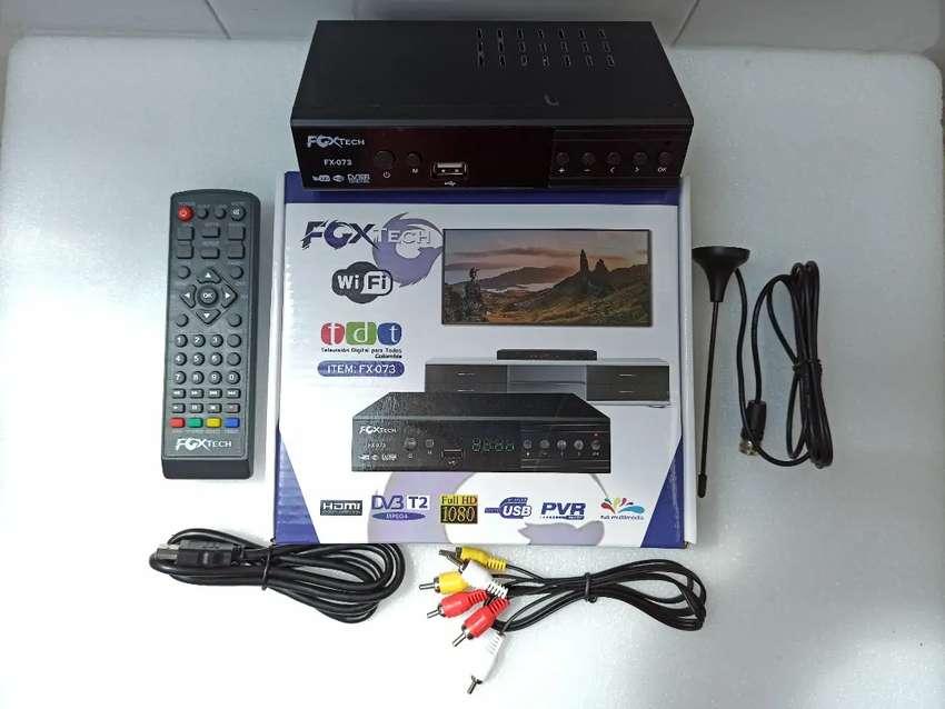 !!TDT DECOS PARA SEÑAL HD, SIRVE EN CUALQUIER TV PLANO O CONVENCIONALES