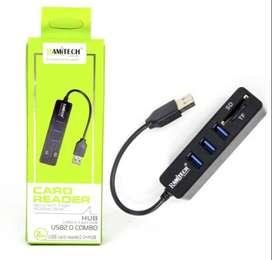 Adaptador USB/SD/TF GR-5PORT