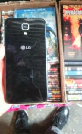 Celular LG pantalla rota