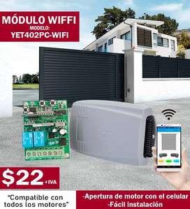Modulo wifi apertura de puertas desde el celular puertas de garaje cerradura electromagnetica electrica chapas
