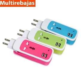 Cable De Datos Usb Multifuncion, Tres En Uno