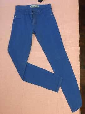 Pantalón Jean Azul Chupin Talle 38