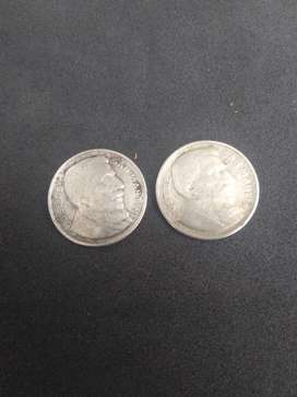 Moneda 20 centavos 1951
