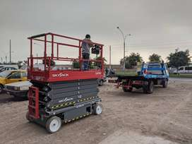 Alquiler - Elevador de Tijera de 14m - Plataforma Elevadora - Manlift
