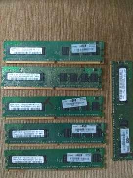 ven do Memorias DDR2 de 1 giga