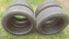 Neumáticos R18. Escucho ofertas