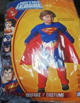Disfraz niño justice league  talla 2