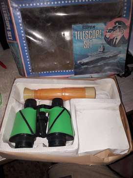Largavista y telescopio