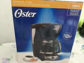 Cafetera oster nueva