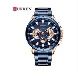 Reloj Marca Curren Con Cronógrafo