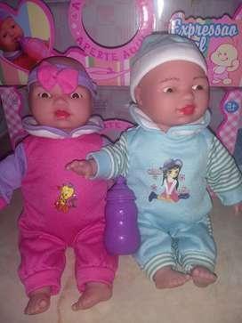 Muñecas con expresiones faciales
