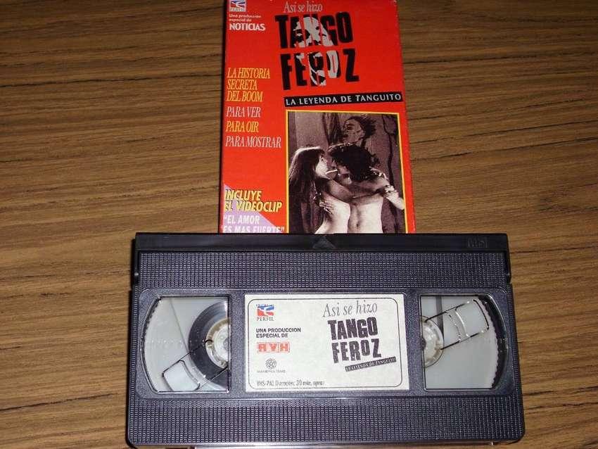 Tango Feroz / Documental de como se hizo la pelicula / VHS