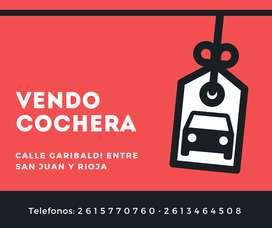 DUEÑO Vende Cochera en Microcentro de Mendoza