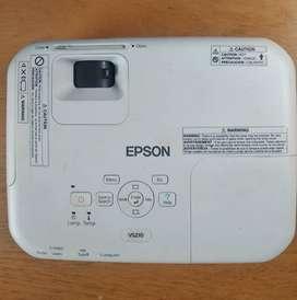 Proyector Epson VS210, 2600 lumens como nuevo.PROMO!!!
