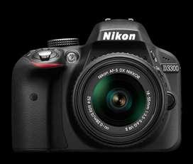 Cámara Fotográfica Nikon D3300 Nueva