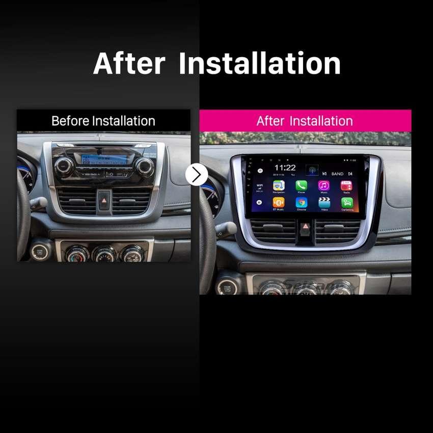 Radio Android 8.1 Toyota Yaris 2012-2015 0