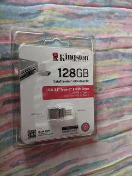 Memoria USB/usb-c 128gb nuevo