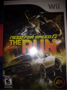 Need for speed the run/ wii