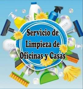 Servicio doméstico de limpieza y aseo en general