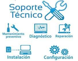 Soporte tecnico especializado, te ayudamos con los problemas con las computadoras de tu casa o empresa