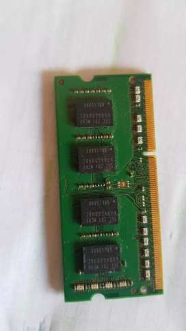 Memorias para Portatil  DDR 3 -  4 Gb Kingston/ Samsung