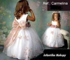 vestidos para comunion, bautizo, pajes, niño y niña