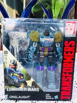 Transformers Onslaught edicion Limitada