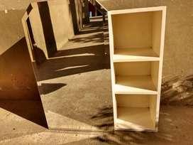 botiquin de madera maciza con espejo3000 biselado