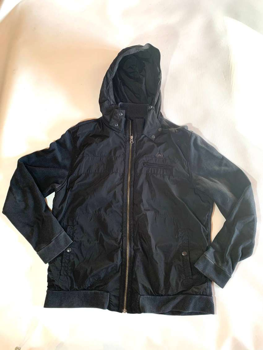 Campera Key Biscayne Negra Hombre Talle L 0