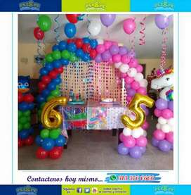 Animaciones decoraciones fiestas infantiles recreacion cumpleaños baby Shower