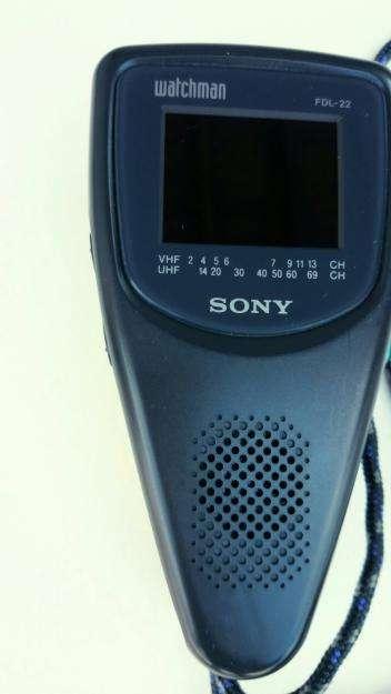 Televisor Sony Portátil a Color Pantalla 0