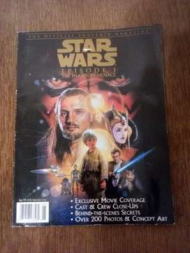 1999 Star Wars Souvenir Magazine Inglés