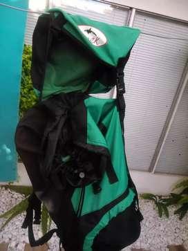 Mochila mochilero trekking 75 litros con varilla