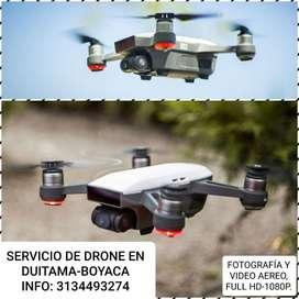 Servicio de Drone en Duitama-boyaca