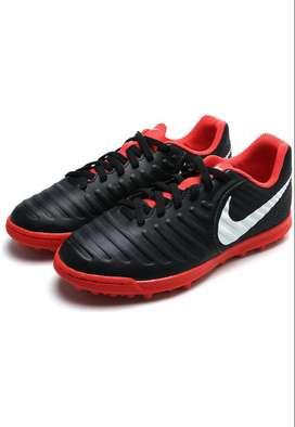 Zapatilla Nike Negro Rojo Original. Producto Nuevo. Fútbol. Sintética.