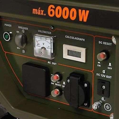 Planta Eléctrica a Gasolina 6KW 110V 25Lt en Bogota 0