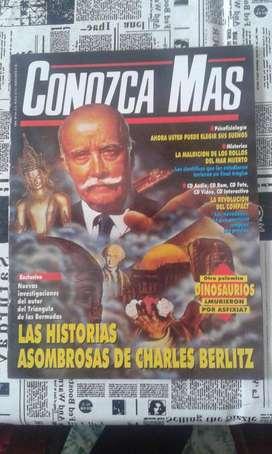 Conozca Mas 1994 Numero 64 Las Historias Asombrosas De Charles Berlitz