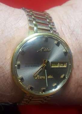 Vendo  cambio reloj MIDO  COMANDER suizo  automatico