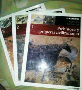 Colección 3 Libros de Historia Universal