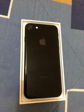 Vendo iphone 7 Jet Black de 128gb libre de todo